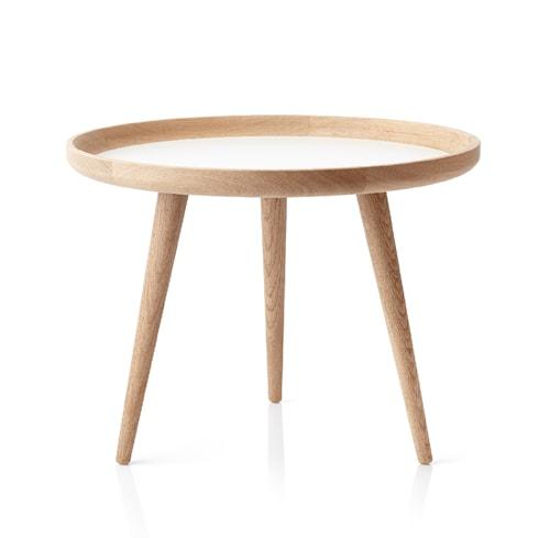 Tisch Bord Eik/Hvit Ø 69 cm