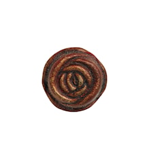 Metallknopp ros Ø 3cm - Koppar