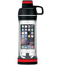 Vätskeflaska mobil, svart