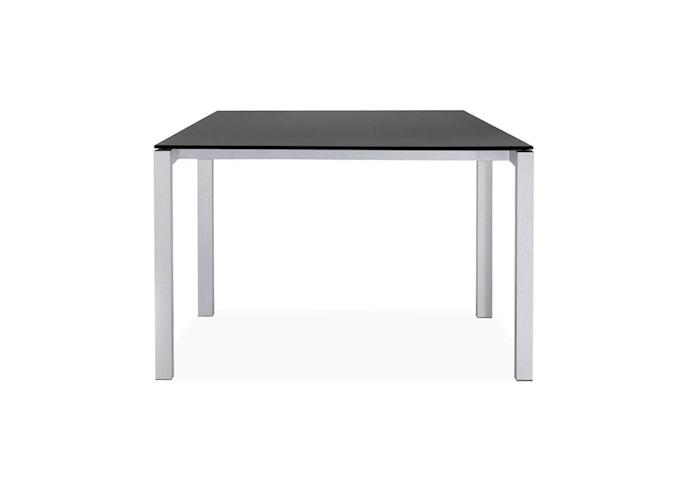 Opus Matbord black MDF/Aluminium 90x74x90 cm
