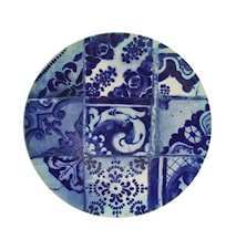 Lisboa Tarjoiluastia sininen kaakeli
