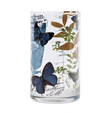 BUTTERFLY Vas Glas 16cm