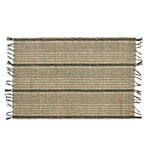 Seagrass placemat, black/nature