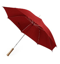 Paraply stormsikker, rød