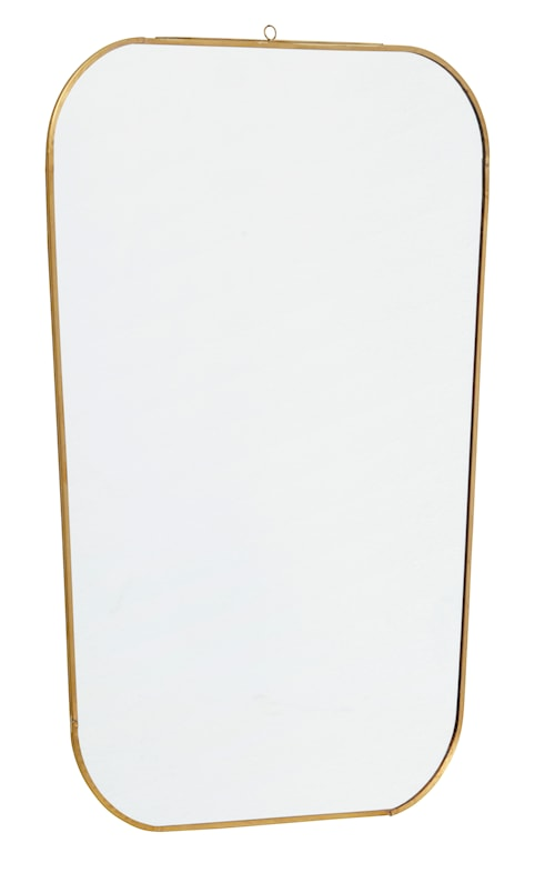Spegel Square 51x35 cm - Guld