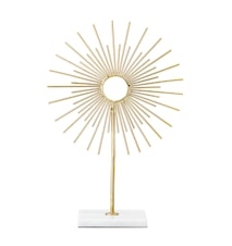 Lou Dekoration Guld Metall