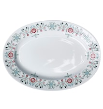 Swedish Grace Winter tallerken oval 32 cm
