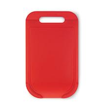 Skjærebrett (M) Rød