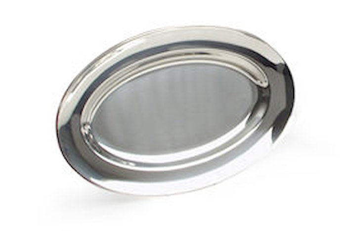 Serveringsfat ovalt 48x31 cm