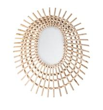 Spegel Dekorerad Sockerrör