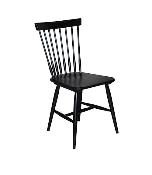 Melo stol – Svartlack