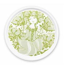 Brikke, Amelia, grønn, Ø31 cm