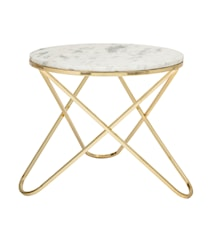 Nuevo Coffee Table, White, Marble