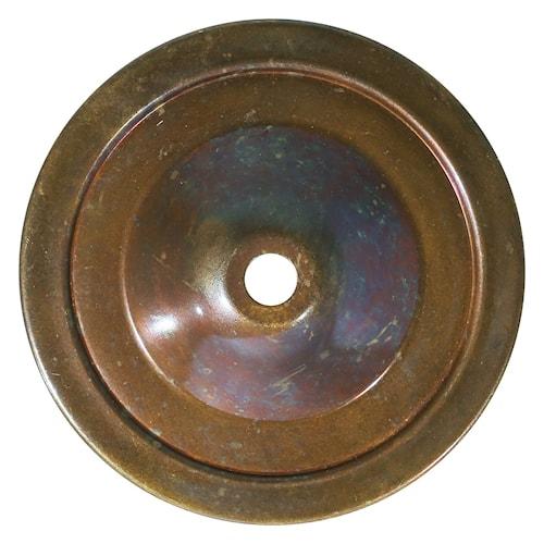 Darya swan vägglampa - Antique brass
