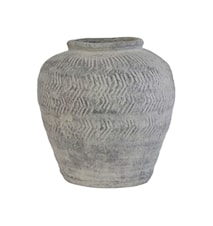 Vase M Cement Grå 26 cm
