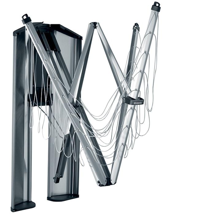 WallFix 24m & Skyddsbox i rostfritt stål 24 M Metallic Grå/Mattborstat Stål