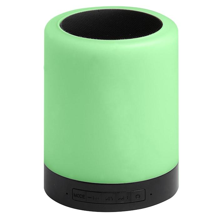 Bluetooth-høyttaler med lys