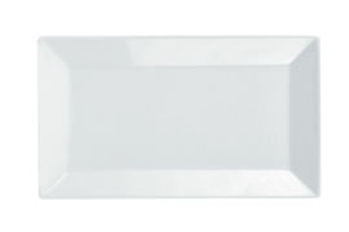 Quadro Flat tallerken 26x15 cm