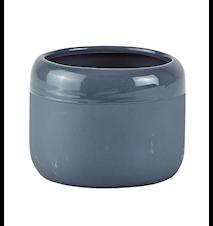 Skjuler - Keramik - Mørkegrå - D 8,0cm - H 6,0cm - Stk.