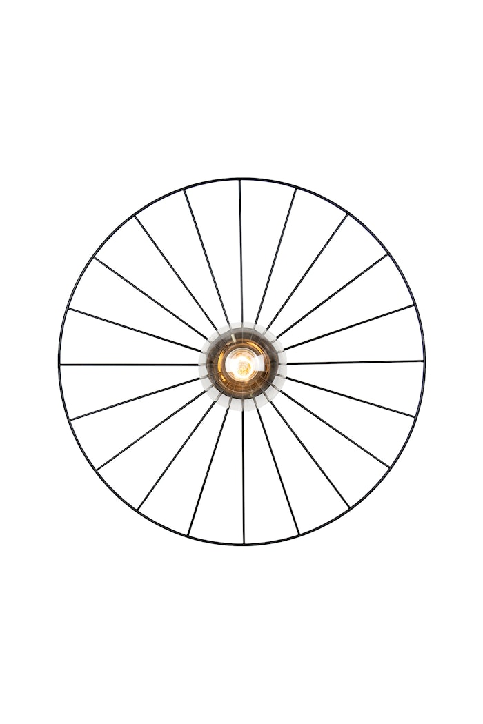 Taklampe Wheel - Svart