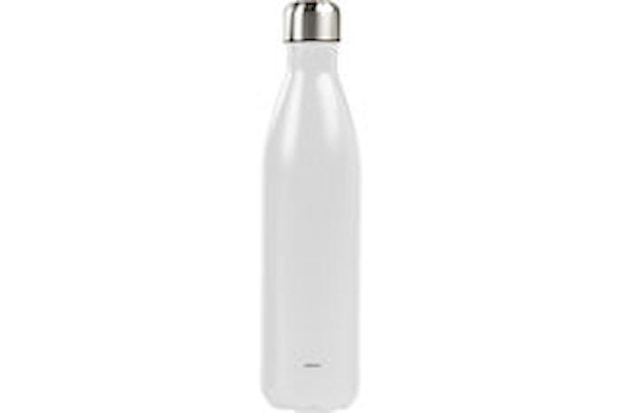 Ståltermos flaska 0,75 L vit
