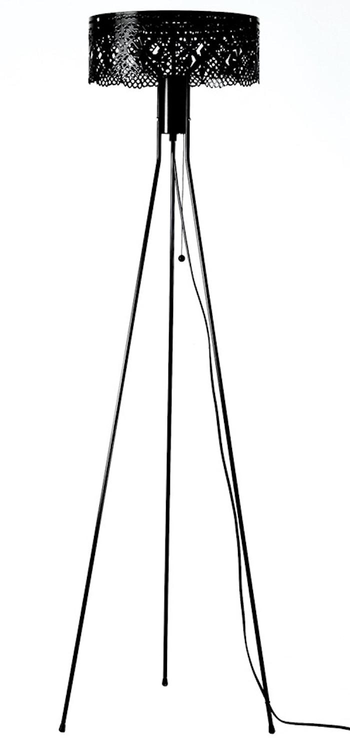 Gladys golvlampa - svart