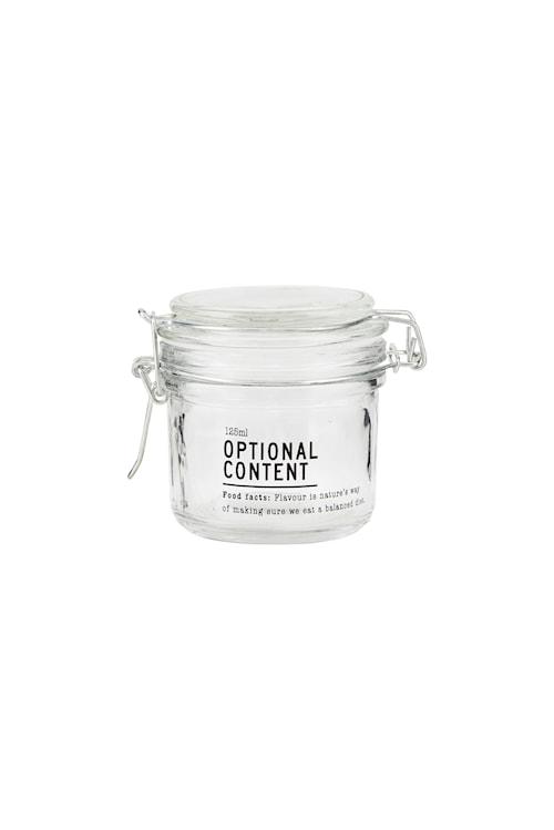 Förvaringsburk Content Ø 125 ml - Klar