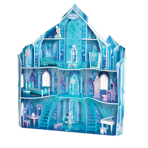 Disney Frozen Snowflake Mansion dockhus