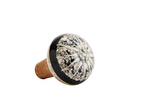 Flaskekork Ø 4,5 cm - Beige/Svart