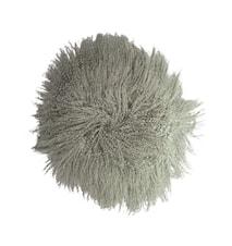 Fårpäls dynor, Tibetan, Grön