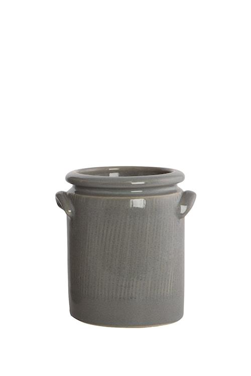 Blomkruka Pottery 15 cm - Ljusgrå