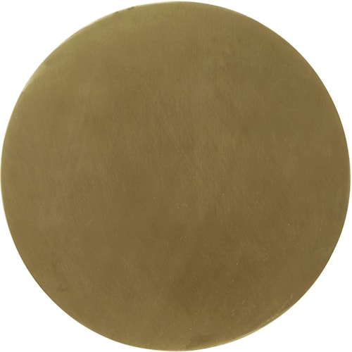 Fullmoon vägglampa Pale gold 25cm