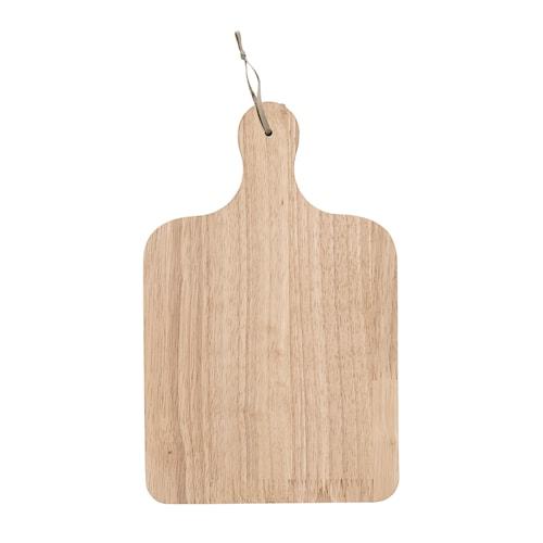 Skærebræt Gummitræ 31,5x20 cm