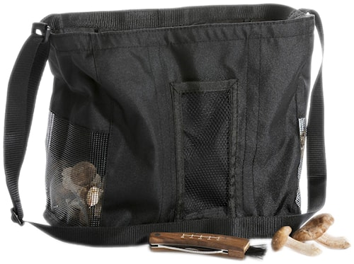 Taske med svampekniv