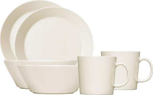 Teema Morgenmadssæt Hvid