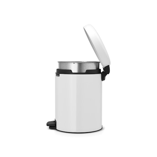 Pedalhink newIcon, metallinnerhink 5 L Vit
