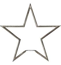 Tindra Stjärna Råsilver 35cm