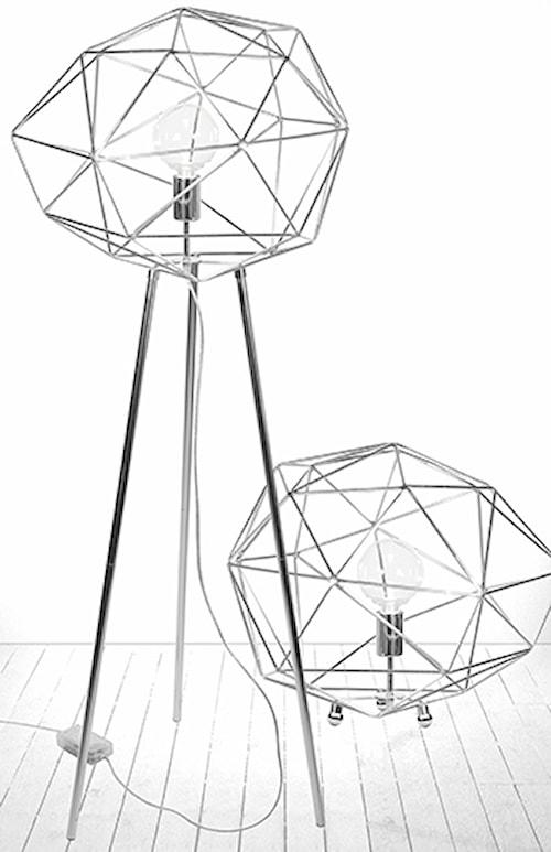 Golvlampa Diamond Krom