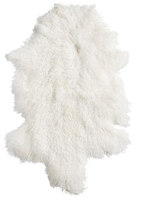 Lamb fur matta – White