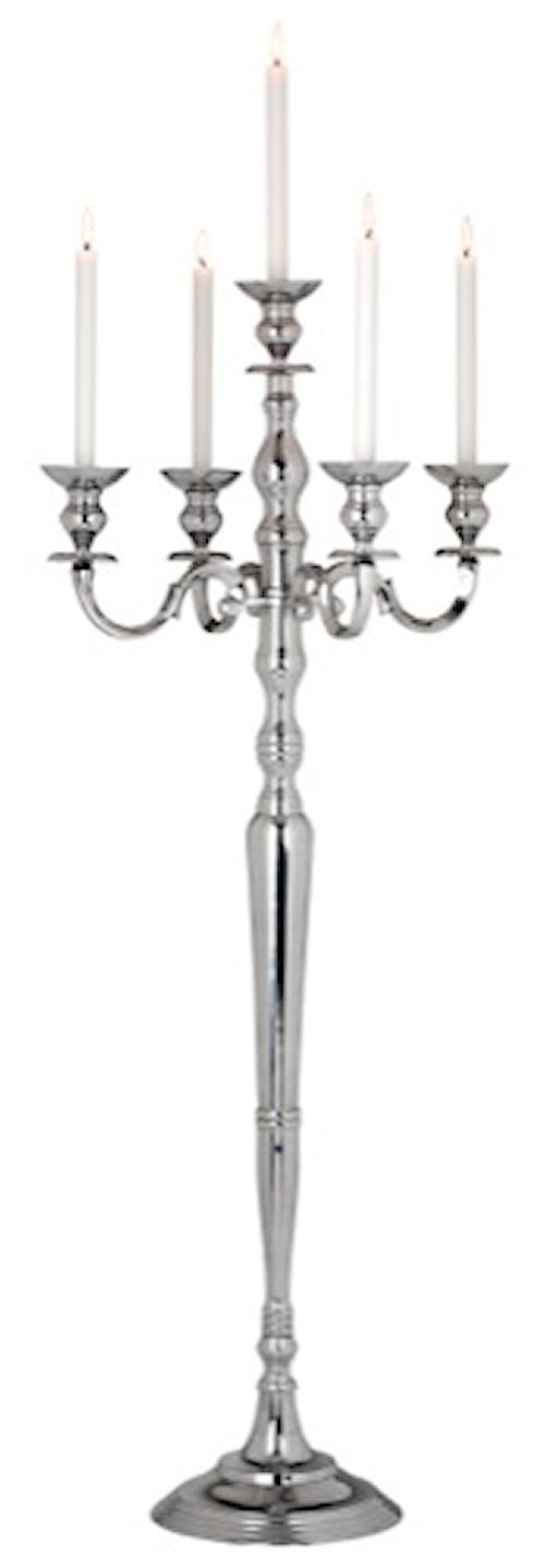 Kandelaber aluminium 5-armad 150 cm- Dorre