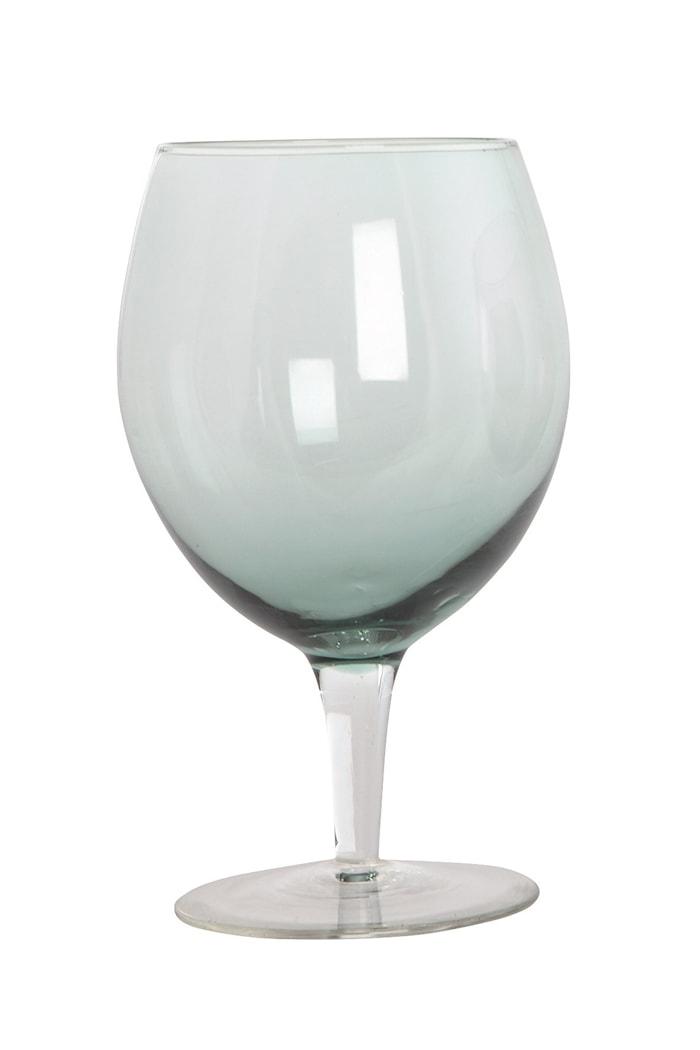 Vinglass Ball 17 cm - Grønn