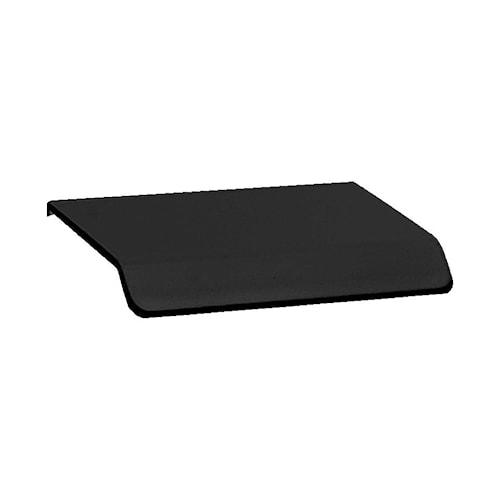 Handtag Curve 4,5 cm matt svart