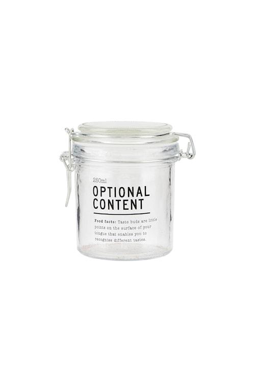 Förvaringsburk Content Ø 250 ml - Klar