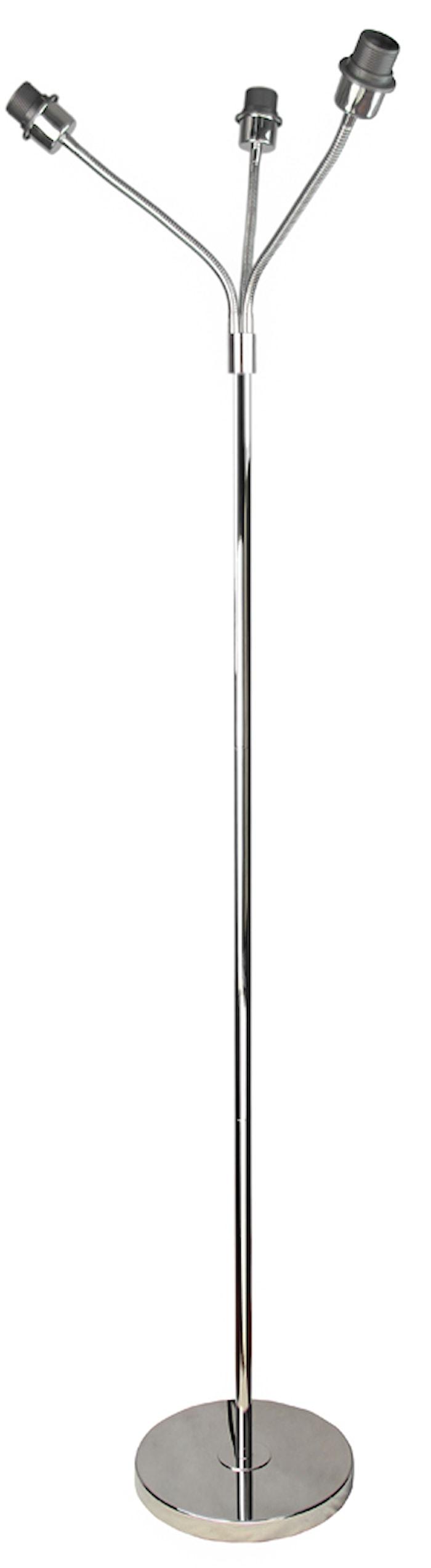 Cia Trearmad Golvfot Chrome 160cm