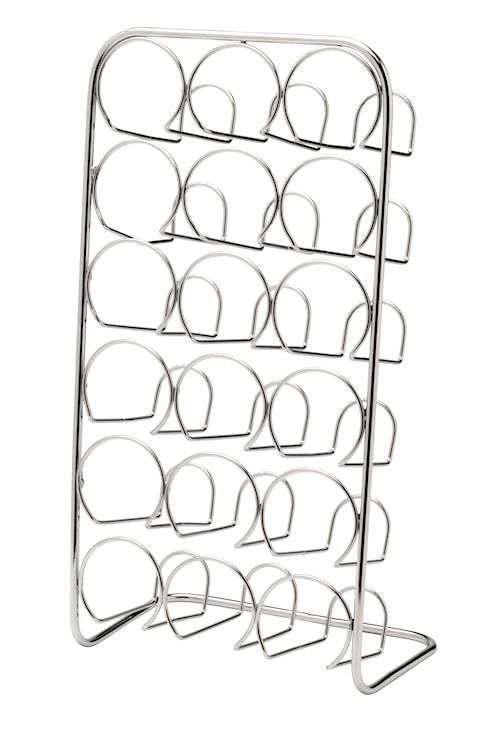 Pisa Krydderhylle 18 Bokser - Krom