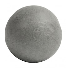 Deco ball, concrete, smooth