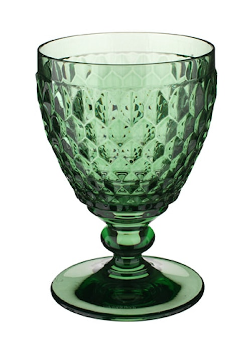 Boston coloured Vitvinsglas Grön