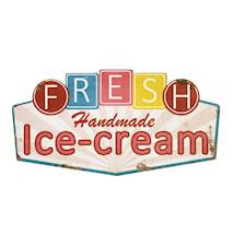Sign HANDMADE-ICE CREAM