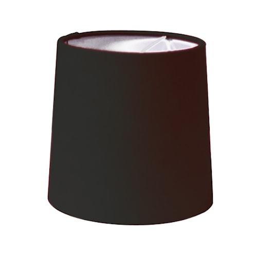 Solid Skärm Ø15 cm - Svart