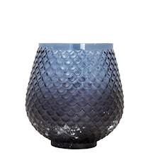 Ljuslykta Calvi Blå 13 cm